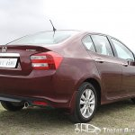 2012 Honda City rear