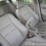 2012 Honda City leather seats