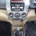 2012 Honda City center console