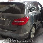 2012 Mercedes  B Class tail lamps