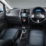 2013 Nissan Note dashboard