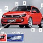 2015 Volkswagen Polo front