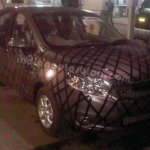 Chevrolet Sail sedan top-end variant with chrome garnish