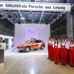 500000 Porsche Cayenne Leipzig plant