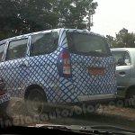 Chevrolet Enjoy spyshot rear