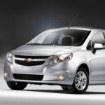 Chevrolet Sail hatchback Colombia