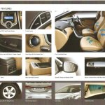 Hyundai Elantra Brochure features