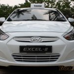 Hyundai Excel III front