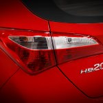 Hyundai HB20 tail lamps