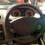 Mahindra Verito Refresh steering wheel