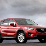 Mazda CX-5 front three quarters