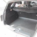 Mercedes B Class boot space