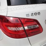 Mercedes B Class taillight and badging