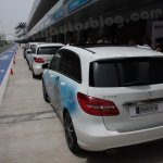 Mercedes B Class Buddh International Circuit event (5)