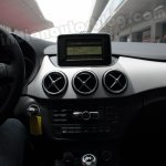 Mercedes B Class iPad-like display on the dashboard