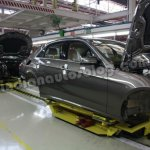 Mercedes E Class on the assembly line in Pune