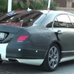 Mercedes S Class 2013 spied on the streets