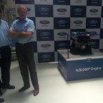 Michael Boneham at the Ford Chennai plant