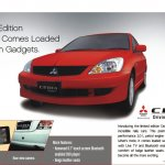 Mitsubishi Cedia Select with digital tablet