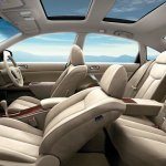 Nissan Teana facelift cabin