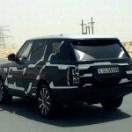 Range Rover 2013 spied in Dubai