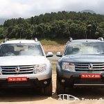 two Renault Duster