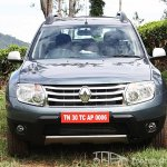Renault Duster front facia