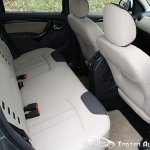 Renault Duster rear seats
