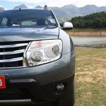 Renault Duster front profile