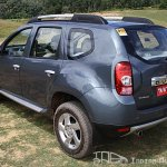 Renault Duster rear side
