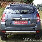 Renault Duster rear profile