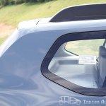 Renault Duster rear quarter glass