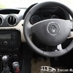 Renault Duster steering wheel