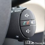 Renault Duster steering mounted control