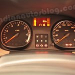 Renault Duster dials