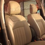 Renault Duster front seats