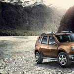 Renault Duster up in the mountains