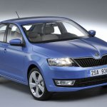 Skoda Rapid European edition front