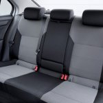 Skoda Rapid European edition rear seat