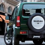Suzuki Jimny facelift rear Chinese market