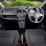 Suzuki Splash facelift UK interior