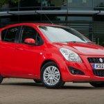 Suzuki Splash facelift UK market