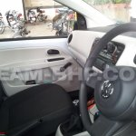 VW Up! India test mule interior