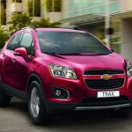 2013 Chevrolet Trax front profile