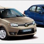 2013 Dacia Logan rendering