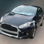 2013 Ford Fiesta facelift front