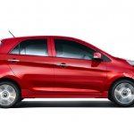 2013 Kia Picanto side profile