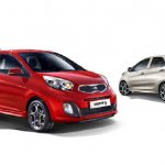2013 Kia Picanto front and rear