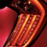 2013 Kia Picanto taillight