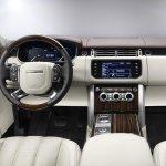 2013 Range Rover dashboard